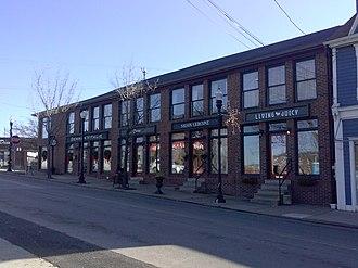 Ellsworth Avenue - Shops on Ellsworth Avenue.