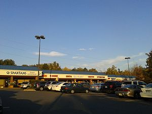 Burke, Virginia - Strip mall in Burke