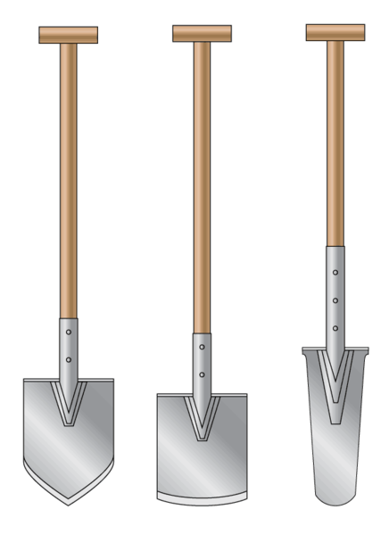 Garden Spades Shovels and other Spades Gardening Products