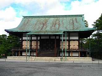 Kyoto Imperial Palace - Shunkōden
