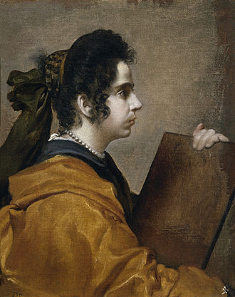 Female Figure (Velázquez) - Image: Sibyl (Portrait of Juana Pacheco)