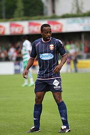 Sidney Govou, colpo di mercato estivo dell' Evian, per la prima storica stagione in Ligue 1.