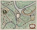 Siege of Rheinberg by Maurice of Orange in 1601 - Rhenoberca obsessa et capta (Atlas van Loon).jpg