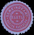 Siegelmarke Gemeindeamt Hartl Bezirk Hartberg W0343757.jpg
