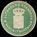 Siegelmarke H.S. Altenburgisches Standesamt Dobitschen W0296809.jpg