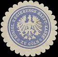Siegelmarke K. Regierungs Haupt-Kasse zu Köln W0381953.jpg
