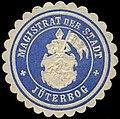 Siegelmarke Magistrat der Stadt Jüterbog W0310334.jpg