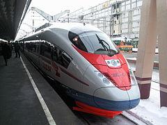 Siemens Velaro in Saint Petersburg