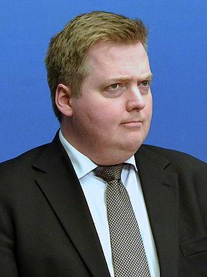Sigmundur Davíð Gunnlaugsson - Image: Sigmundur Davíð Gunnlaugssonin Oct, 2014