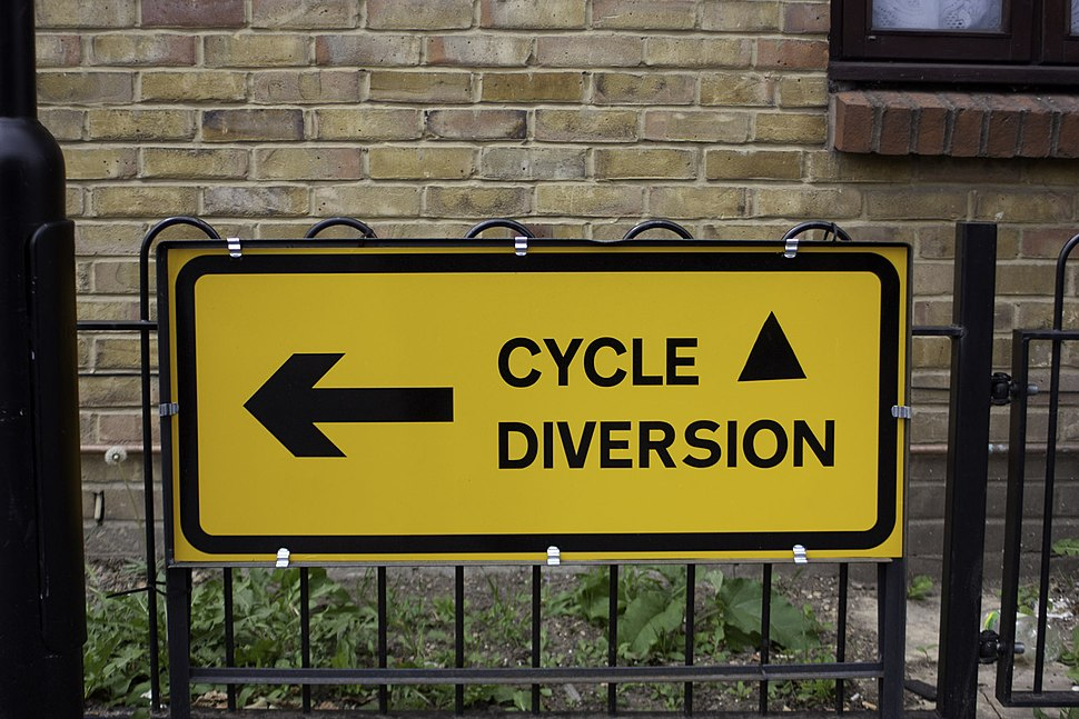 Sign-cycle-diversion