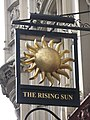 Sign for The House of the Rising Sun, Tottenham Court Road - Windmill Street, WC1 - geograph.org.uk - 1289723.jpg