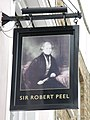 Sign for The Sir Robert Peel, Malden Road - Queen's Crescent, NW5 - geograph.org.uk - 1534226.jpg