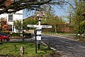 Signpost, Brenchley - geograph.org.uk - 1274912.jpg