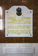 Sikorski plaque, Cathedral of St. Mary the Crowned.jpg