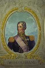 Retrato de Alexandre Tomás Cochrane (Lord Cochrane)