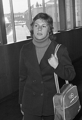 Sippie Tigchelaar in 1972
