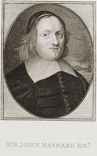 John Maynard (politician) - Sir John Maynard.