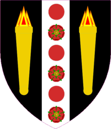 Sir Maurice Victor Blank Escutcheon.png