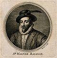 Sir Walter Raleigh. Line engraving by S. F. Ravenet, 1757, a Wellcome V0004884ER.jpg