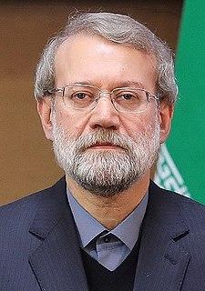 Ali Larijani Iranian philosopher, politician