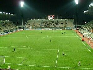"""""""Славу́тич-Аре́на """" (до 2006 года - Центральный стадион  """"Металлург """") - стадион в городе Запорожье, открытий в 1938..."""