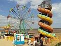 Small fairground, Cleethorpes beach - DSC07359.JPG