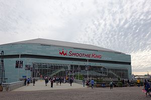 New Orleans Pelicans - Smoothie King Center, home arena of the New Orleans Pelicans