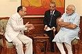 SoftBank Corporation CEO Masayoshi Son meets PM Modi.jpg