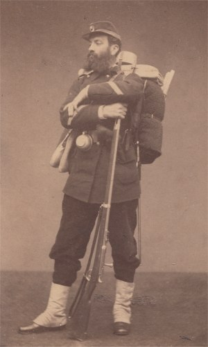 Chassepot - Image: Soldier chassepot