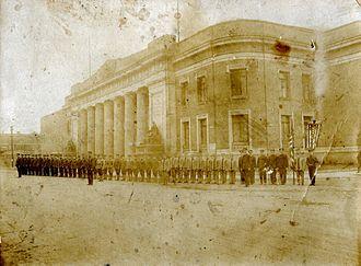 Soldiers and Sailors Memorial Coliseum - 1918 photo of the Soldiers and Sailors Memorial Coliseum