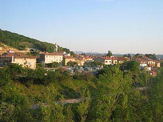 Solkan Place in Slovenian Littoral, Slovenia