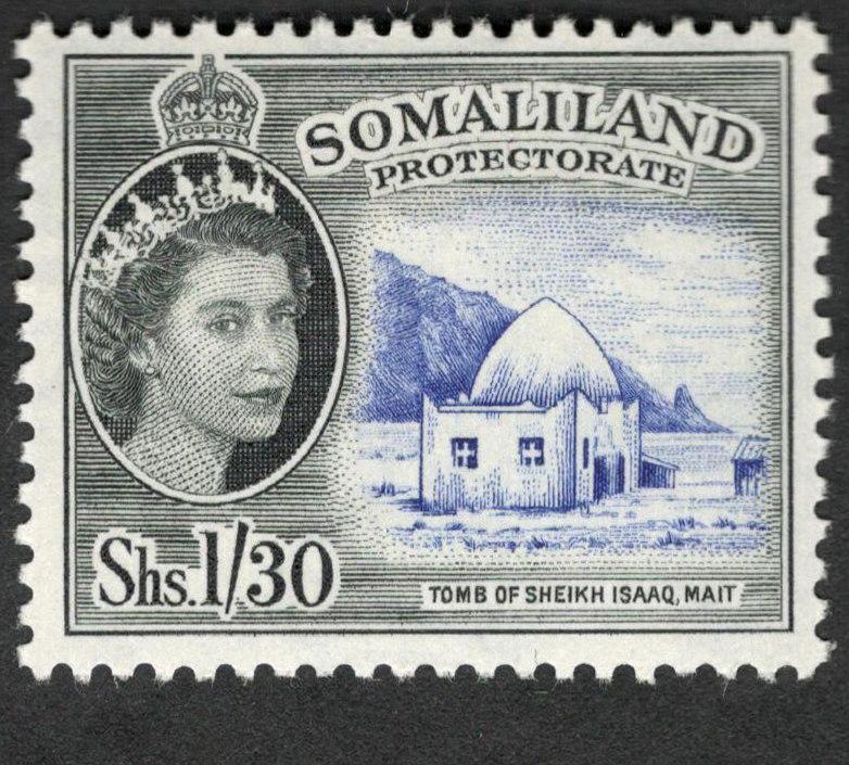 Somaliland-Isaaq-tomb-Mait-stamp