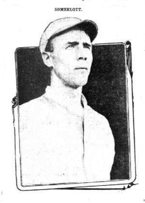 Jock Somerlott - Image: Somerlott baseball newspaper