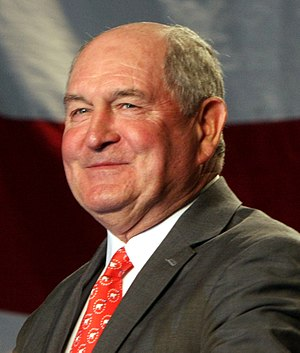 Georgia gubernatorial election, 2006 - Image: Sonny Perdue at rally