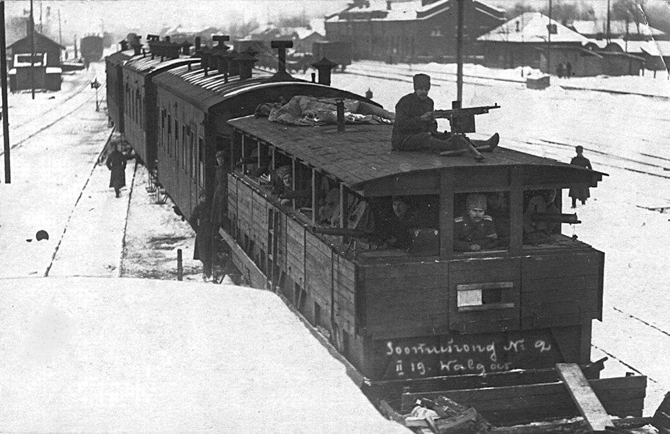 Soomusrong nr 2 Valgas 1919