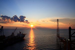 South Pars/North Dome Gas-Condensate field - Horizon of Persian Gulf in South Pars area