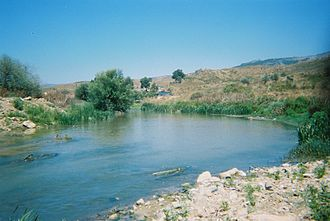 Litani River - The southern part of the Litani River.