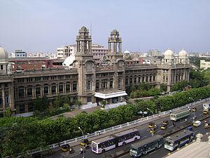 Southern Railway zone - Southern Railway headquarters, Chennai