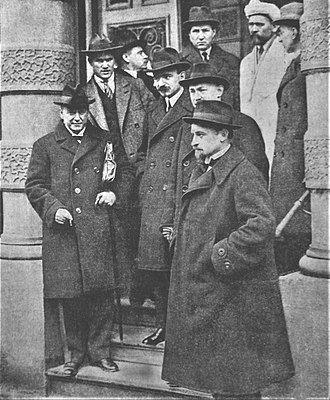 Yevgeni Preobrazhensky - Image: Soviet UK negotiations