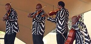 Soweto String Quartet - Ruimsig Botanical Gard...