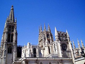 The cathedral Our Lady of Burgos.