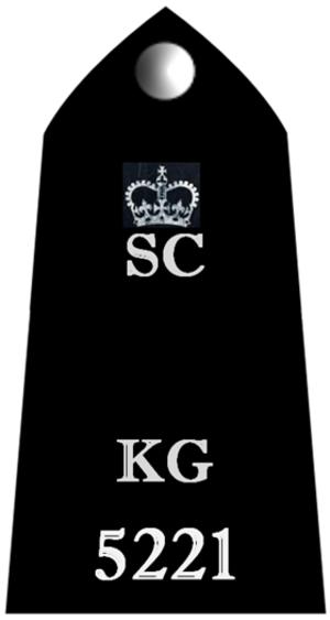 Metropolitan Special Constabulary - Special Constable