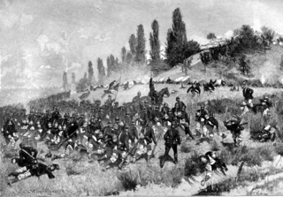 Battle of Spicheren battle during the Franco-Prussian War