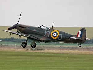 Le Supermarine Spitfire, l'un des meilleurs chasseurs de la guerre