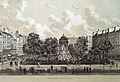 Square des innocents, 1878. Maisons construites en 1860, Rue Pierre Lescot.jpg