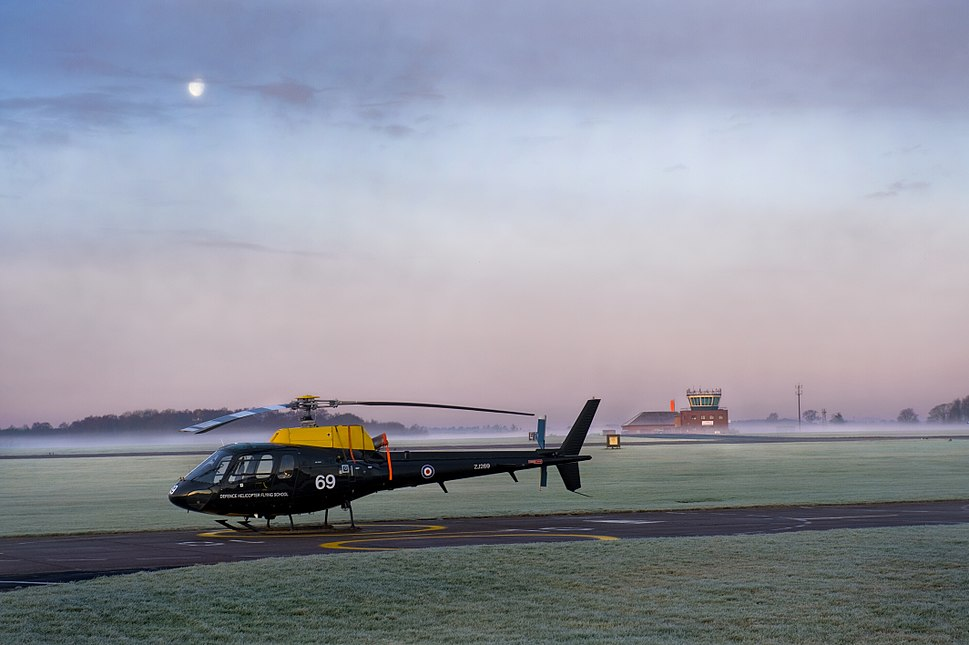 Squirrel Helicopter at RAF Shawbury MOD 45151116