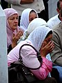 Srebrenica Massacre - Reinterment and Memorial Ceremony - July 2007 - Women Mourners 1.jpg