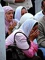 Srebrenica Massacre - Reinterment and Memorial Ceremony - July 2007 - Women Mourners 1.jpg