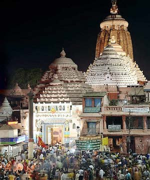 Sri Jagannath Temple Puri, Orissa