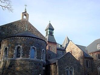 Saint John's Seminary (Massachusetts) - St. John's Seminary exterior